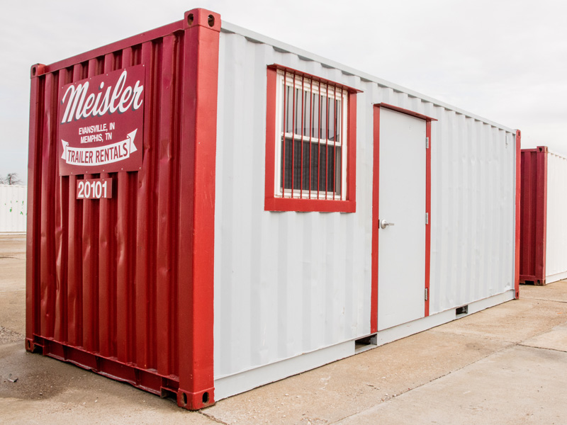Custom trailer containers available for all your storage needs